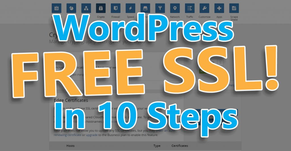 10 Steps To Install A Free Ssl On Wordpress Vpaultech